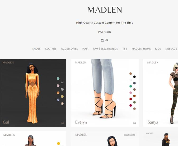 Madlen CC Maker Tumblr Blog
