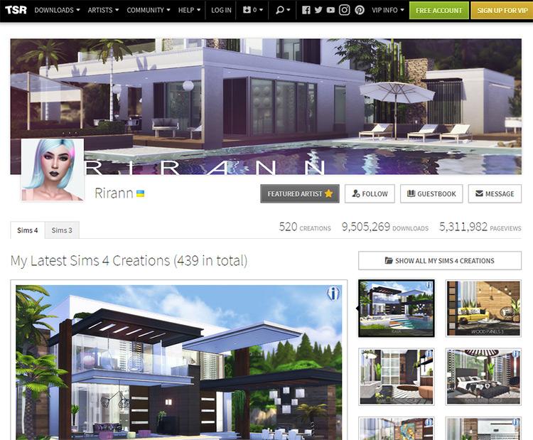 Rirann CC Maker on The Sims Resource