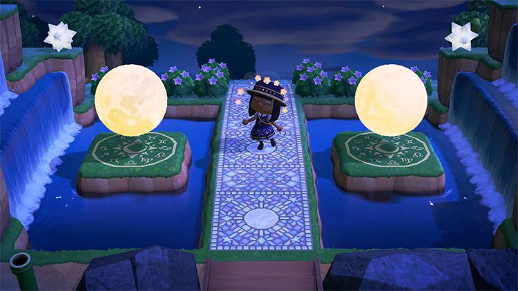 Celestial Bridge Idea For Acnh