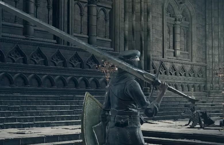 Astora Greatsword Weapon in DS3