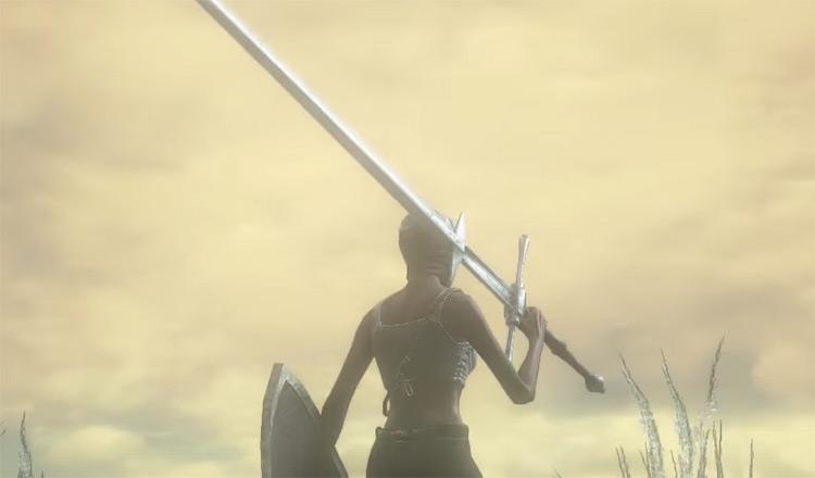 Zweihander blade in Dark Souls 3