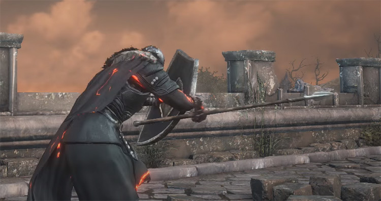 Winged Spear DS3 Weapon