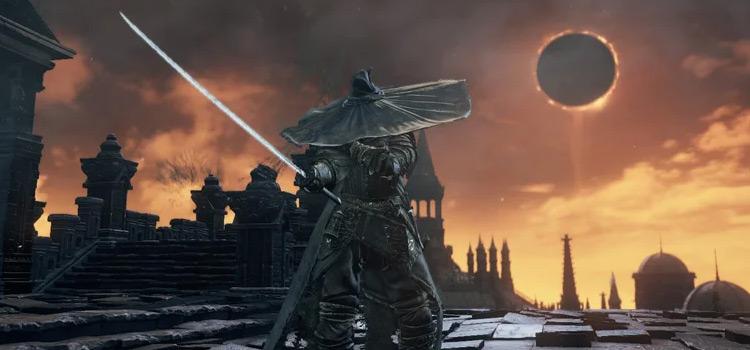 Ashen Samurai Character Build in DS3