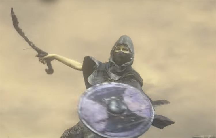Rotten Ghru Dagger in DS3