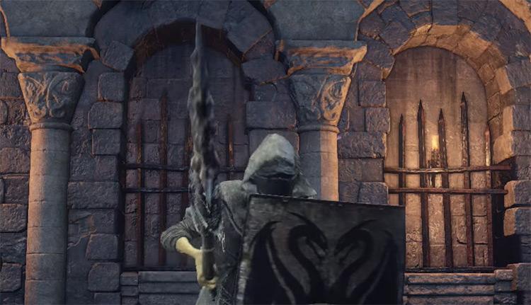 Rotten Ghru Spear in DS3