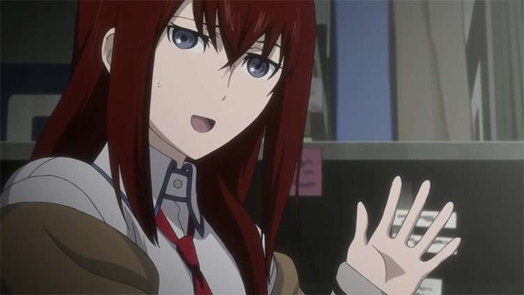 Kurisu Makise from Steins; Gate anime