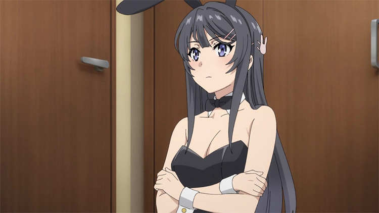 Mai Sakurajima in Rascal Does Not Dream of Bunny Girl Senpai