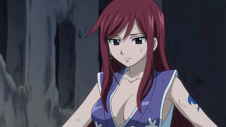 Erza Scarlet in Fairy Tail anime