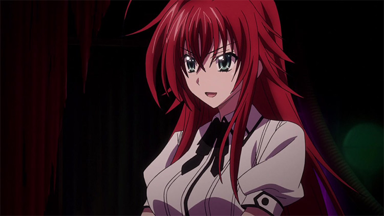 Rias Gremory in High School DxD