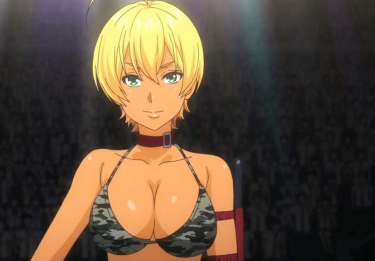 Ikumi Mito in Food Wars anime