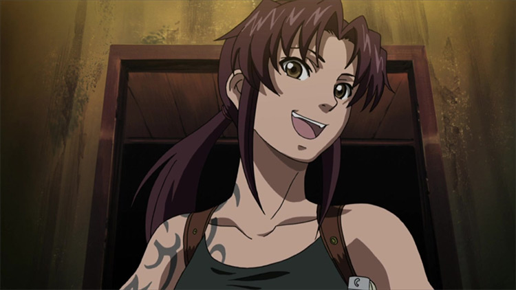 Revy in Black Lagoon anime