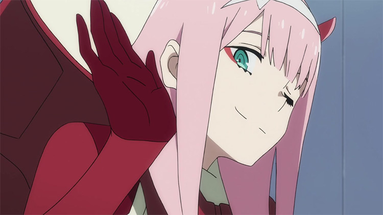 Zero Two in Darling in the Franxx