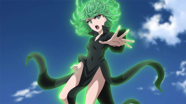 Tatsumaki from One Punch Man anime