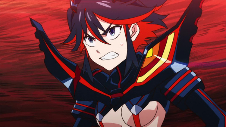 Ryuuko Matoi from Kill la Kill anime
