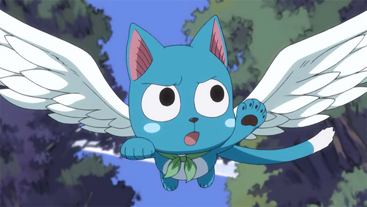Happy in Fairy Tail anime
