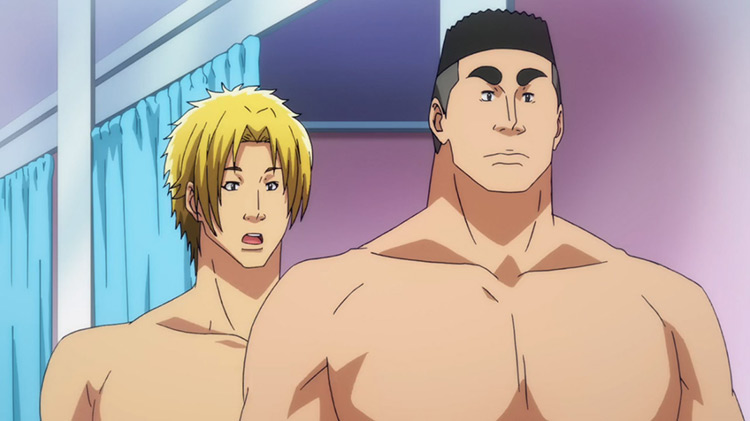 Shinji and Ryuujirou in Grand Blue