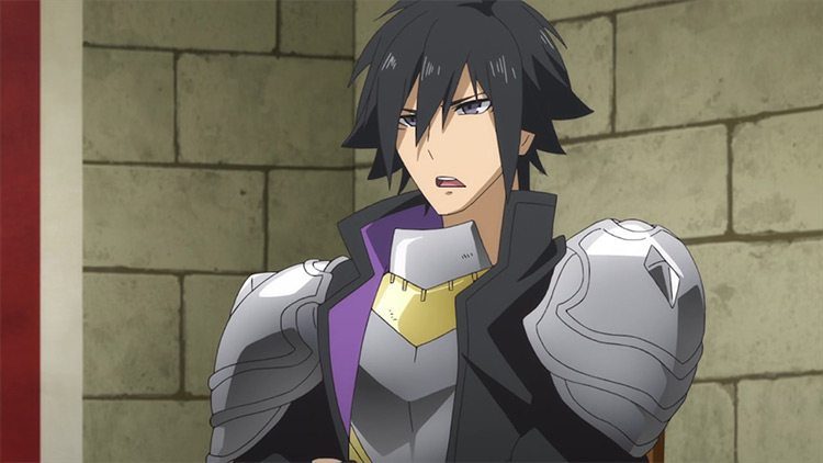 Seiya Ryuuguuin in Cautious Hero: The Hero Is Overpowered but Overly Cautious