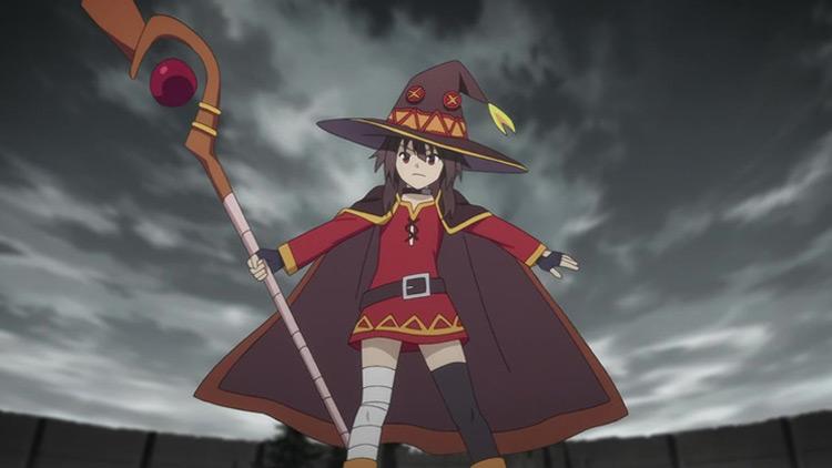 Megumin from KonoSuba anime