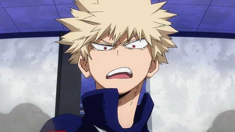 Katsuki Bakugou in My Hero Academia anime