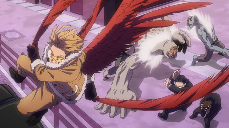 Fierce Wings - Halcones del anime My Hero Academia