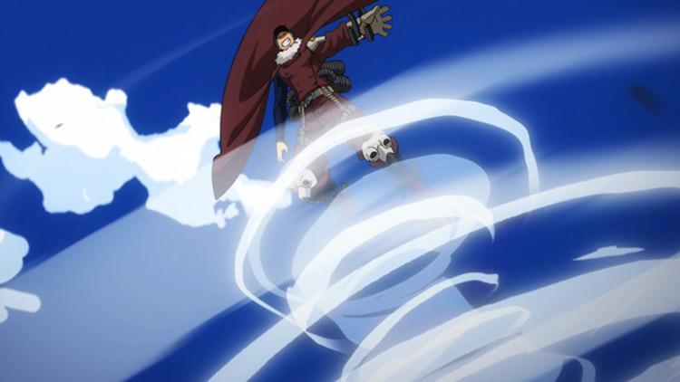 Whirlwind - Inasa Yoarashi from My Hero Academia anime