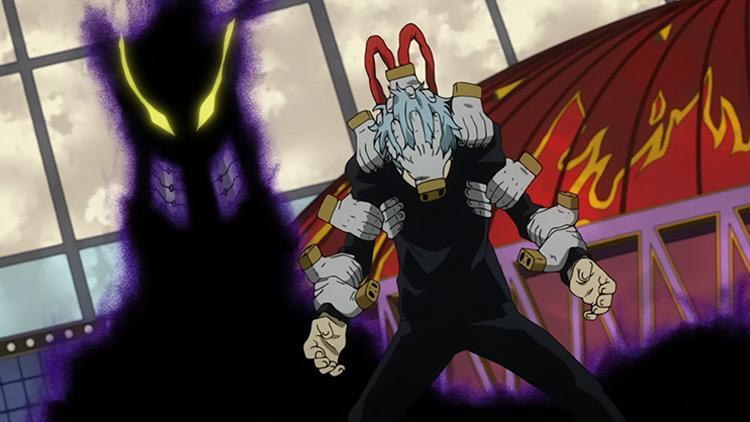 Warp Gate – Kurogiri My Hero Academia anime screenshot