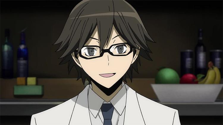 Shinra Kishitani from Durarara anime
