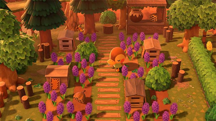 Honey Farm Area in ACNH