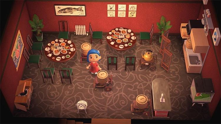 Dim Sum Restaurant/Diner Idea - ACNH