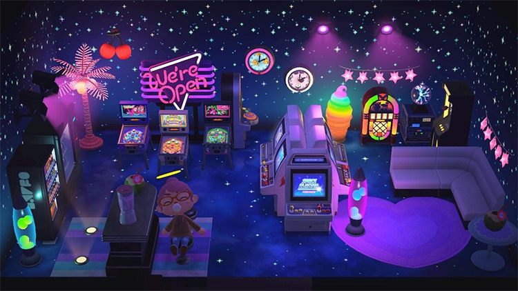 Starlight Arcade and Diner Idea - ACNH