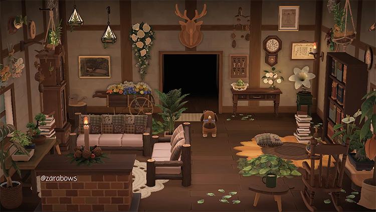 Greenhouse Living Room Idea - ACNH