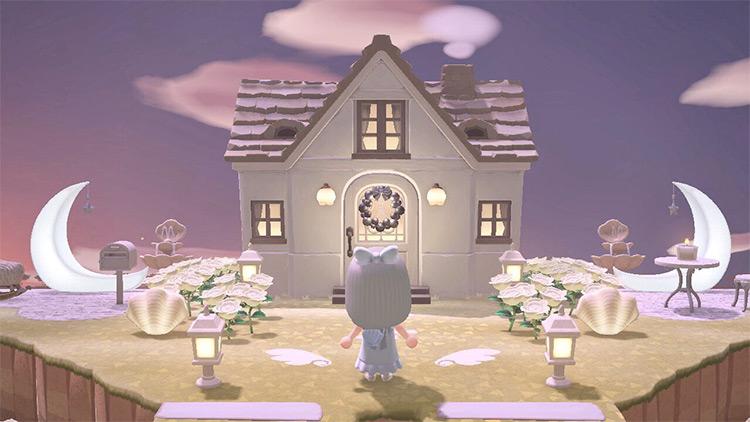 Moon Yard Design Idea - ACNH