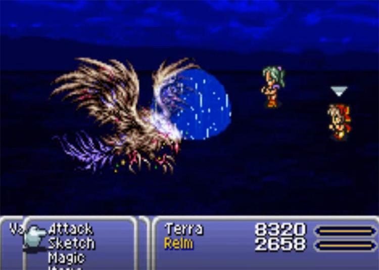 Ultima spell in FF6