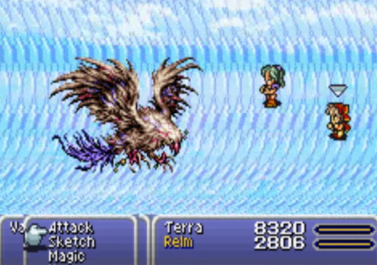 Holy spell in FF6