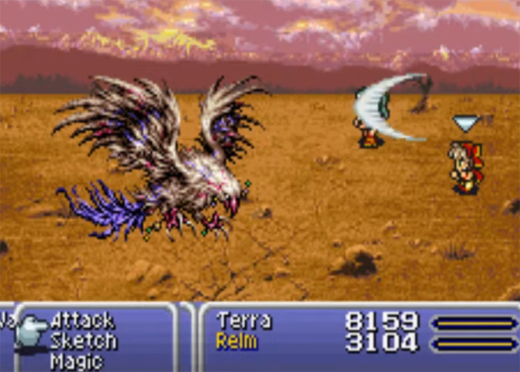 Reflect Spell in FF6