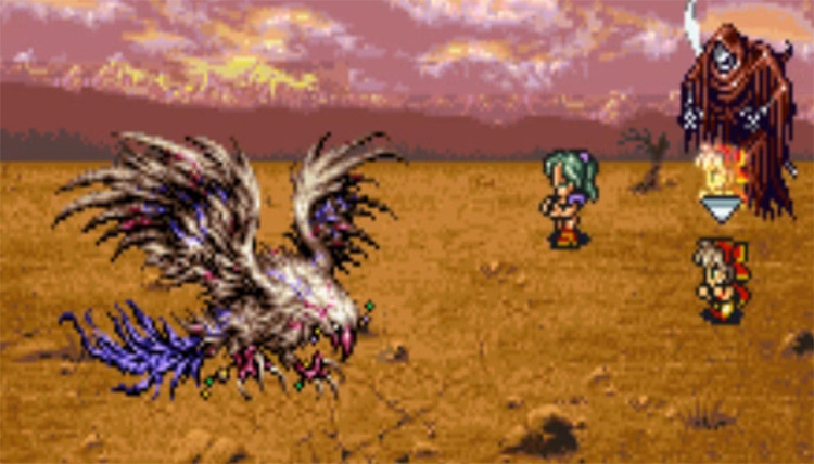 Death spell in FF6
