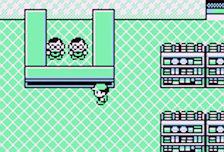 TM32 Pokemon Yellow Celadon Dept Store