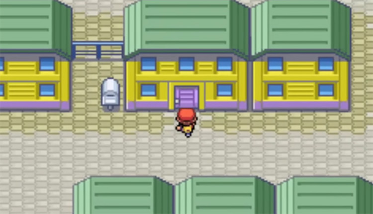 Mr. Psychic's House in Pokemon FireRed