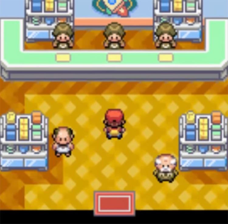 Interior Celadon Game Corner - Pokemon FRLG Screenshot