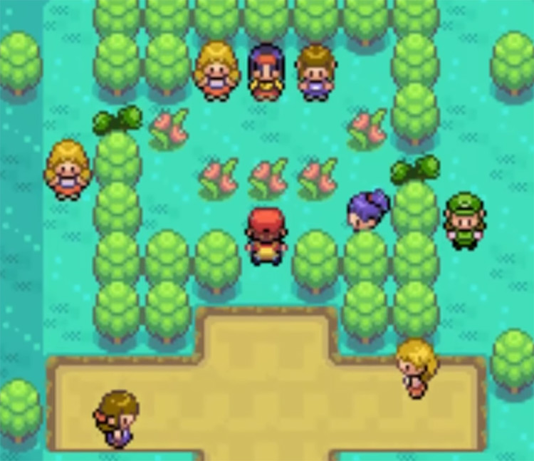 Inside Erika Celadon Gym - Pokemon Frlg