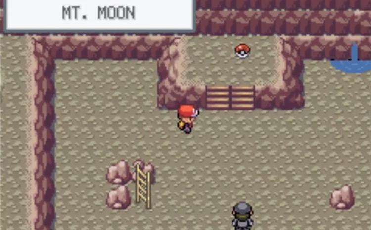TM46 Location in Mount Moon - Pokemon FRLG