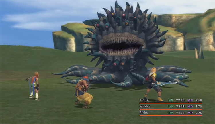The Monster Arena - FFX HD Screenshot