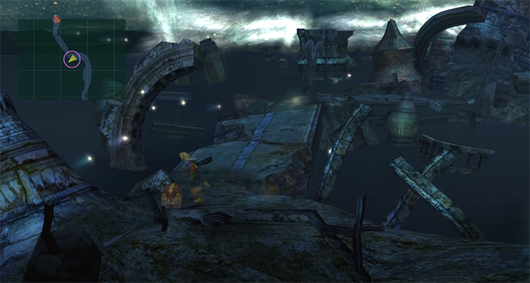 Zanarkand Ruins Area - FFX HD Screenshot