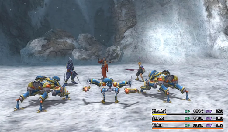 Mount Gagazet FFX HD Screenshot