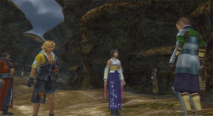 Mushroom Rock Road FFX HD Screenshot
