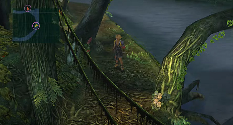 Kilika Woods FFX HD Screenshot