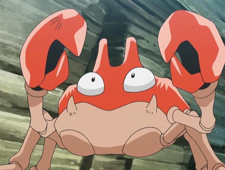 Krabby in the Pokemon anime