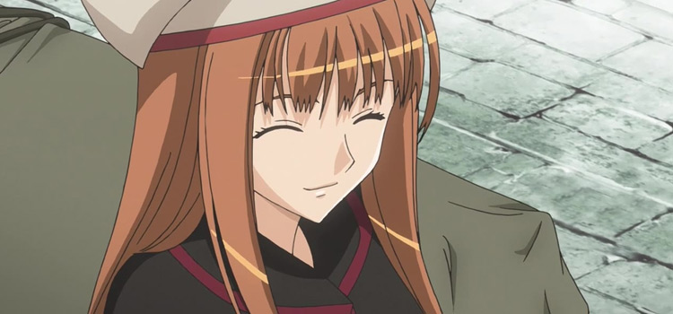Holo in Spice and Wolf Anime