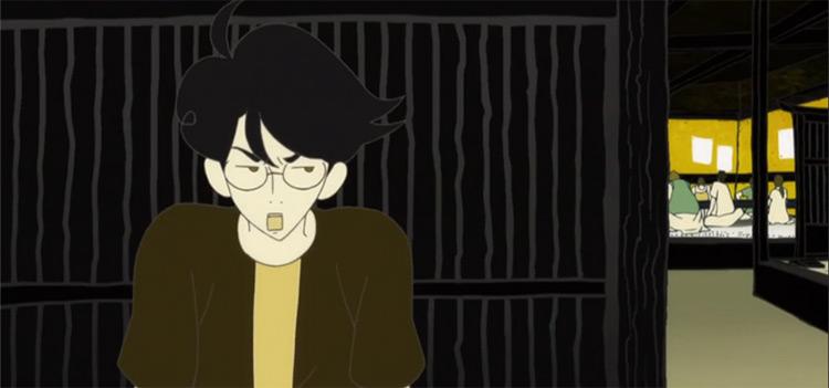 Watashi in Tatami Galaxy anime