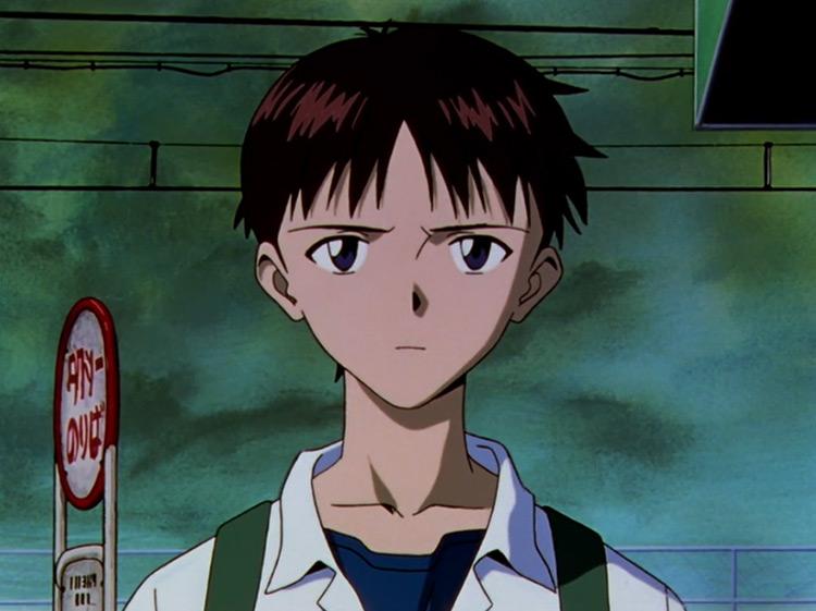 Shinji Ikari in Neon Genesis Evangelion